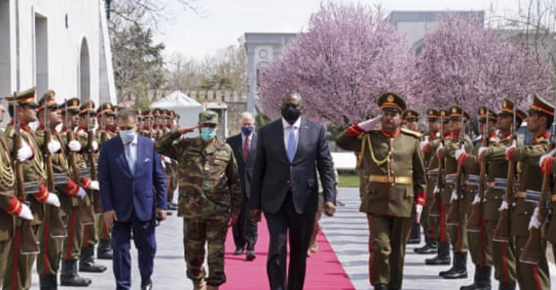अफगानिस्तानका राष्ट्रपति र अमेरिकी रक्षामन्त्रीबीच भेटवार्ता, तालिबानको चिन्ता