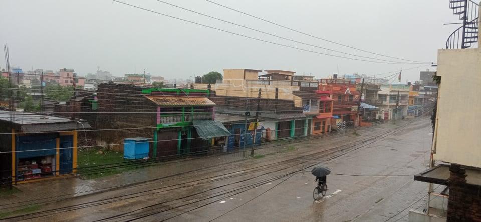 लुम्बिनीमा हावाहुरीसहित भारी वर्षाको सम्भावना