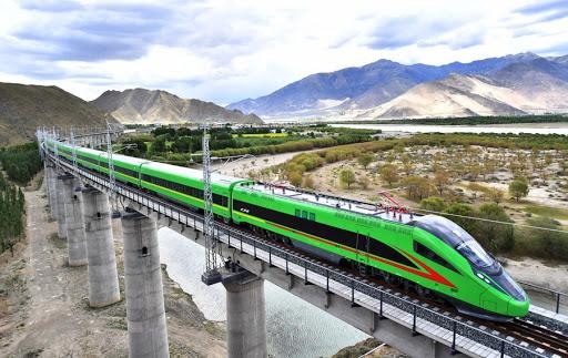 पहिलोपटक तिब्बतमा 'बुलेट ट्रेन' सञ्चालनमा
