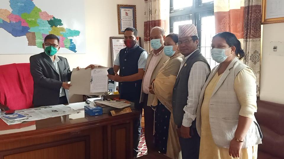 लुम्बिनी सरकारविरुद्ध फेरि अविश्वास प्रस्ताव दर्ता