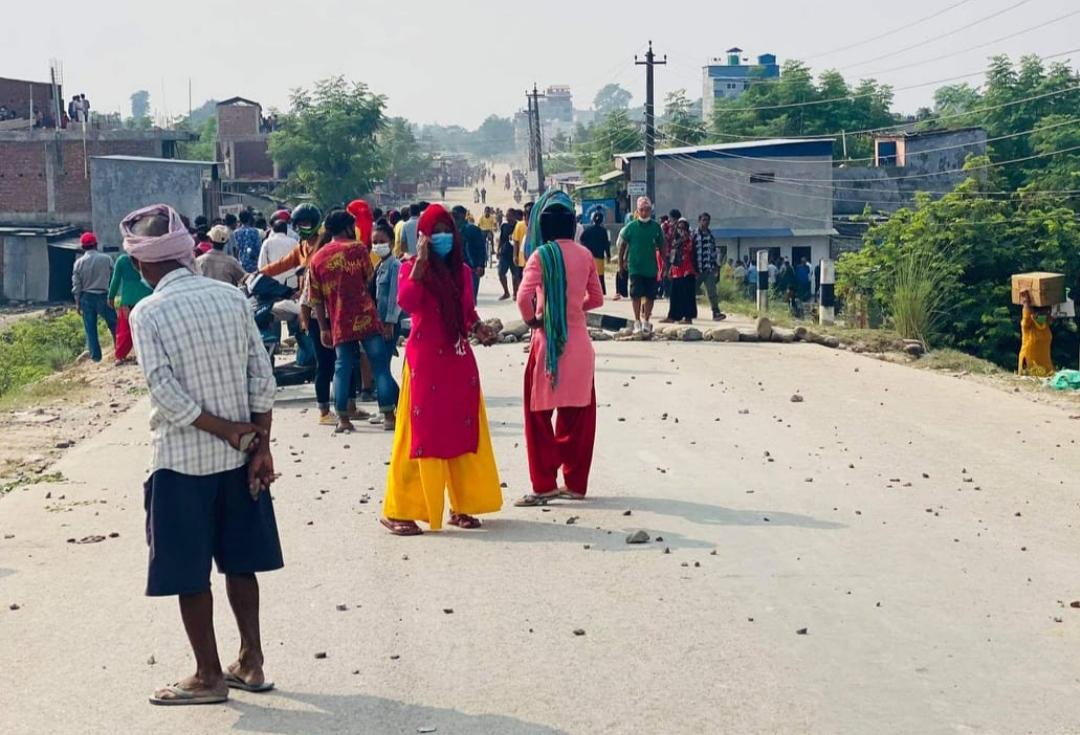 मोतीपुर औद्योगिक क्षेत्रमा अनिश्चितकालीन कर्फ्यु